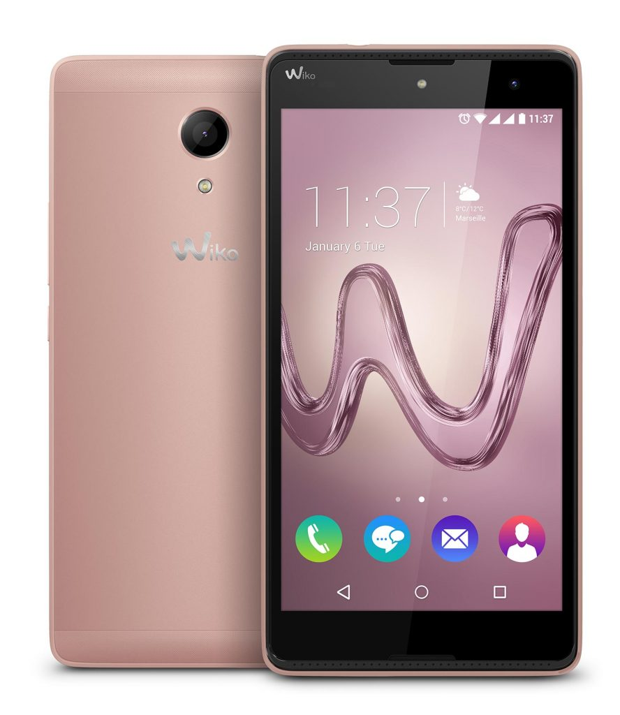 Wiko ROBBY pink gold