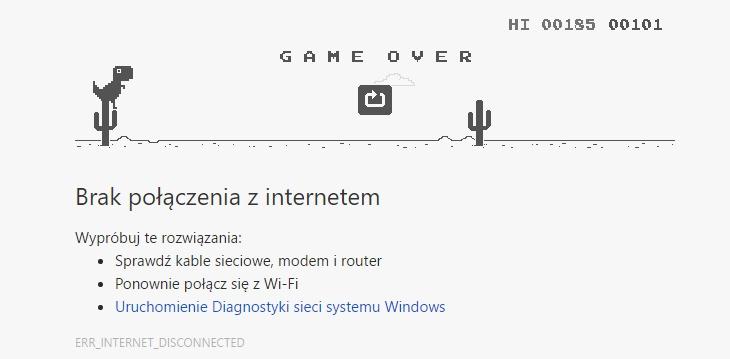 Gra na Google Chrome