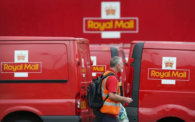 Royal Mail / fot.telegraph.co.uk