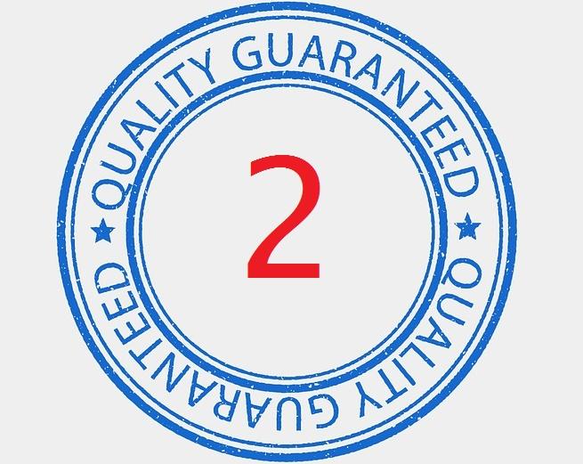 Dwa lata gwarancji serwisowej na akumulator