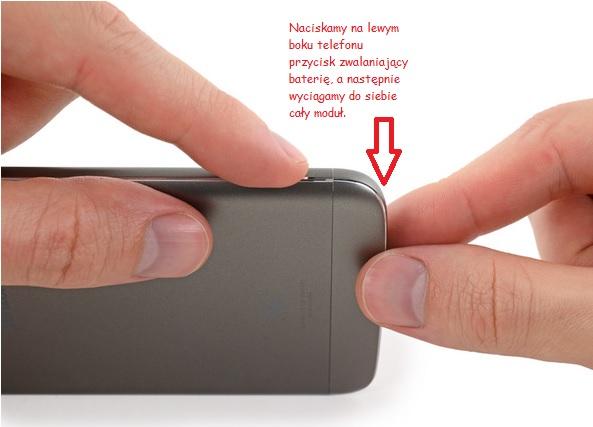 Demontaż baterii w LG G5 /fot.iFixit.com