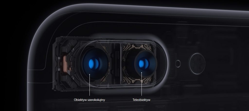 Nowy obiektyw iPhone 7 / fot. Apple
