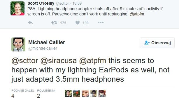 Twitter wadliwe EarPods