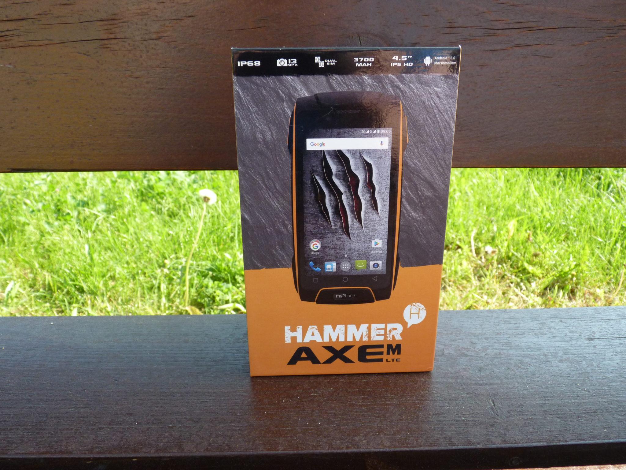 ca63fda38dc3 Recenzja smartfona myPhone Hammer AXE M LTE