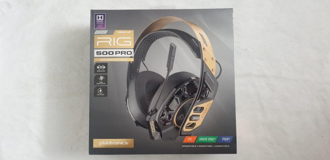 Recenzja słuchawek dla graczy Plantronics RIG 500 Pro | Technologiczna